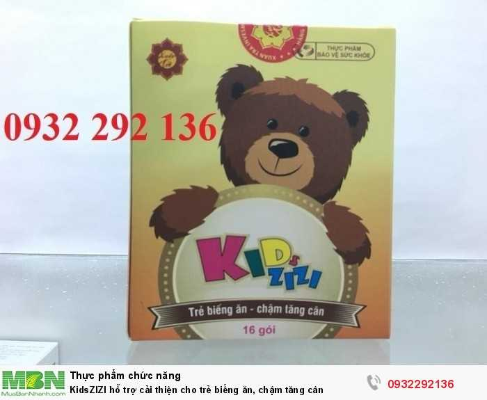 KidsZIZI giúp trẻ giảm tình trạng biếng ăn, chậm lớn ở trẻ. Liên hệ 0932 292 1360