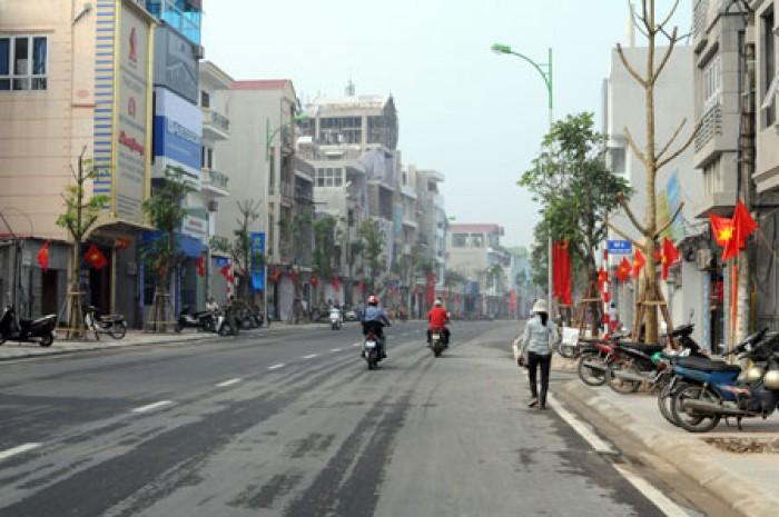 Chính chủ bán gấp đất Vũ Xuân Thiều dt 55m x5m mặt tiền giá 2.55 tỷ.