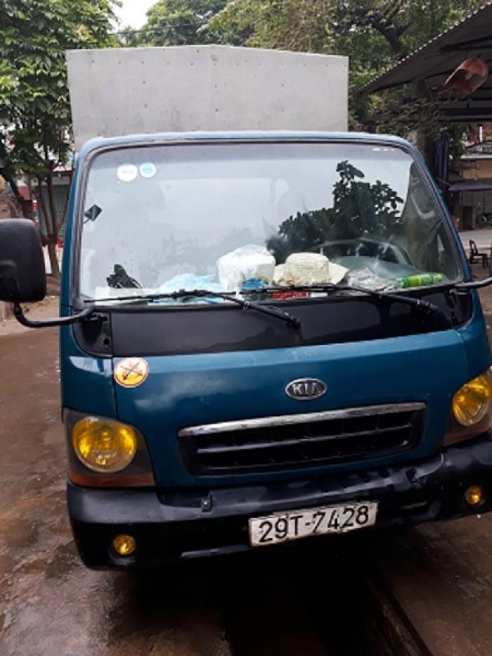 Xe Kia k2700 thùng kín,1T. xe đẹp đang sử dụng