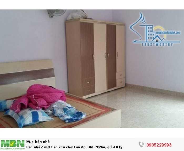 Bán nhà 2 mặt tiền khu chợ Tân An, BMT 9x9m