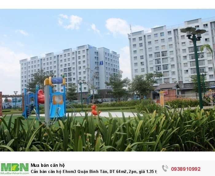 Cần bán căn hộ Ehom3 Quận Bình Tân, DT 64m2, 2pn, giá 1.35 tỷ