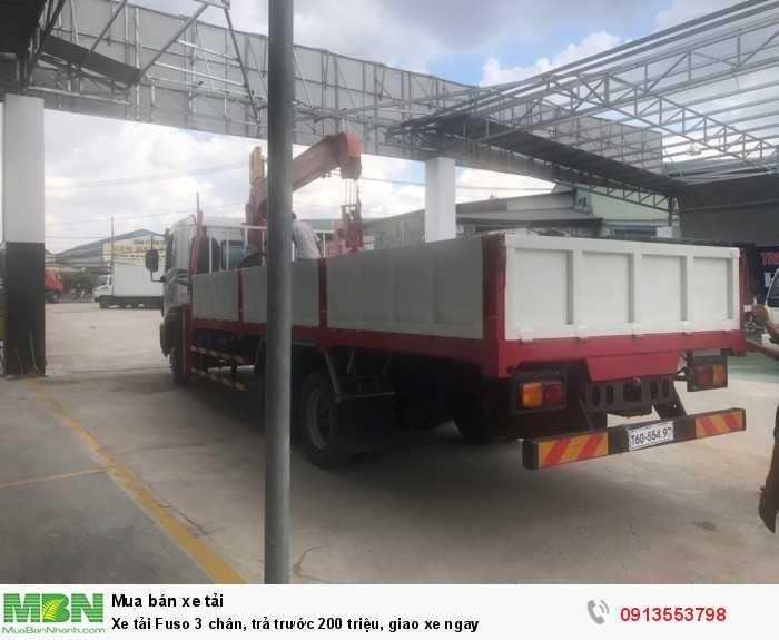 Mua xe tải Fuso 3 chân, trả trước 200 triệu, giao xe ngay - Hotline: 0913553798 (Ms Thi 24/24)