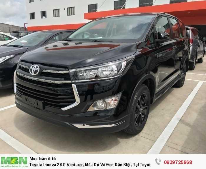 Toyota Innova 2.0G Venturer, Màu Đỏ Và Đen Đặc Biệt, Tại Toyota An Thành Fukushima