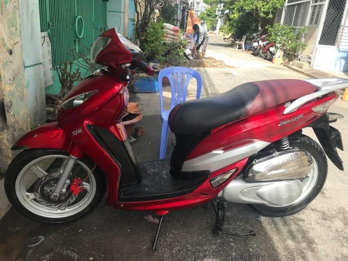 Xe Shark Sport chính hãng SYM, màu đỏ,bstp,hình thật 3