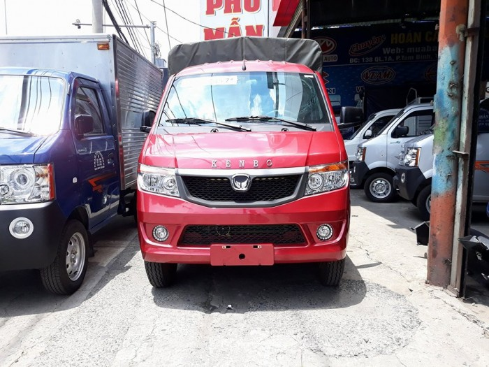 xe tải kenbo 990kg thùng mui bạt 990kg - xe tải nhập khẩu 990kg Nhật BẢN 1