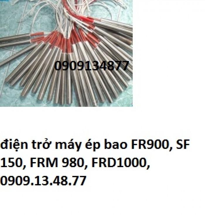 Bán con nhiệt máy hàn miệng bao FR900, cây điện trở máy hàn bao liên tục có in date FRD1000, FRM9803