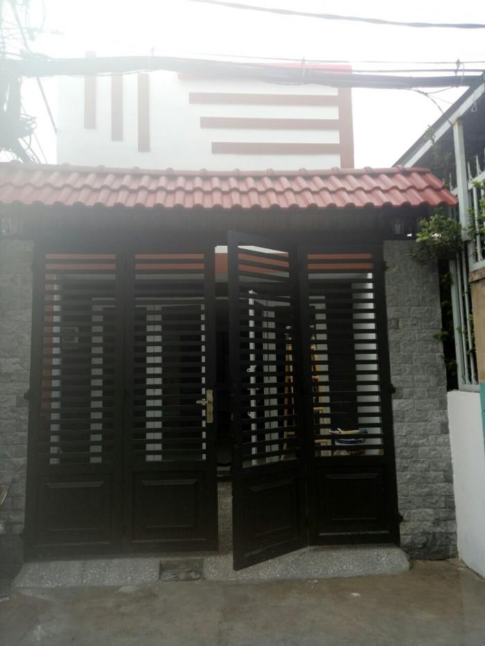 Bán nhà 2 MT hẻm đường Nguyễn Quý Anh , P Tân Sơn Nhì Q Tân Phú