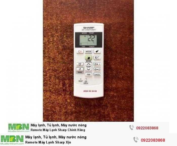 Remote Máy Lạnh Sharp Xịn0