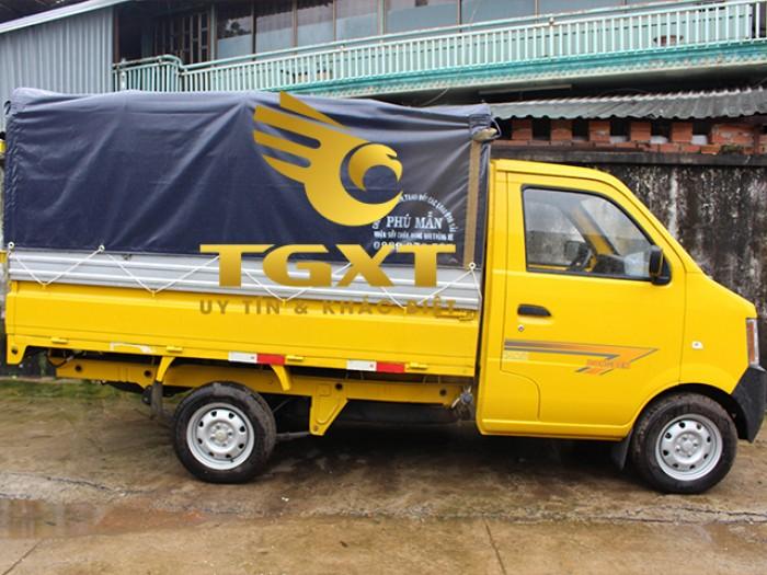 DongBen 870kg Thùng Lửng sản xuất năm 2018 Số tay (số sàn) Xe tải động cơ Xăng