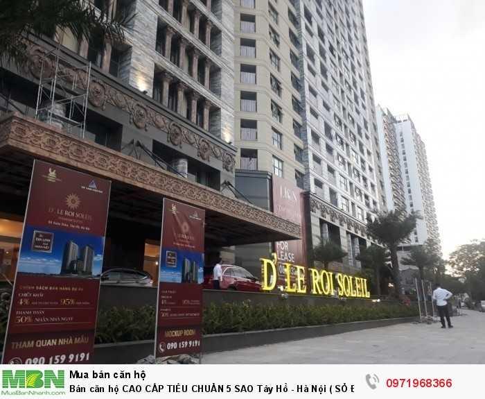 Bán căn hộ CAO CẤP TIÊU CHUẨN 5 SAO Tây Hồ - Hà Nội ( SỔ ĐỎ VĨNH VIỄN )