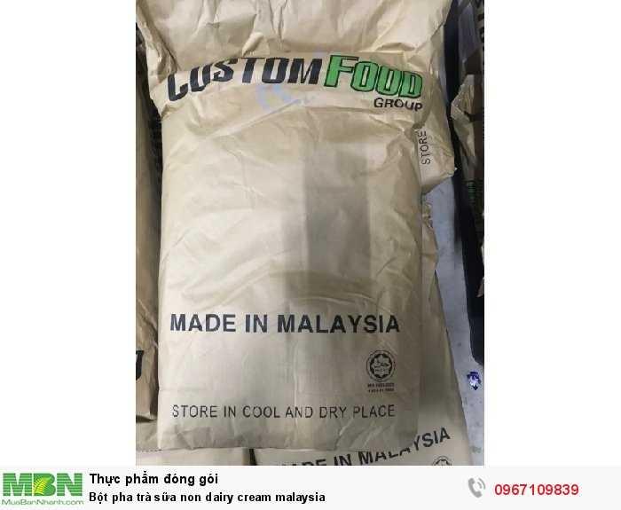 Bột pha trà sữa non dairy cream malaysia1