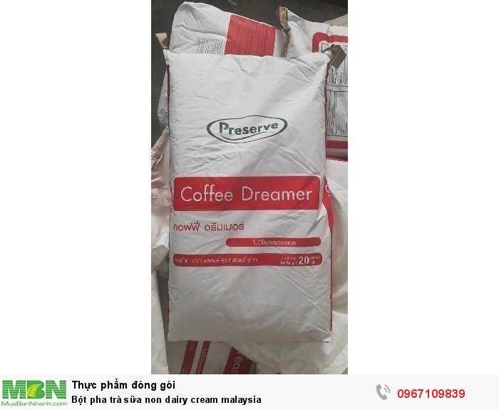 Bột pha trà sữa non dairy cream malaysia4