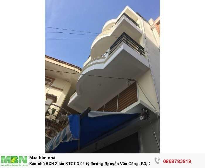 Bán nhà HXH 2 lầu BTCT đường Nguyễn Văn Công, P.3, Gò Vấp