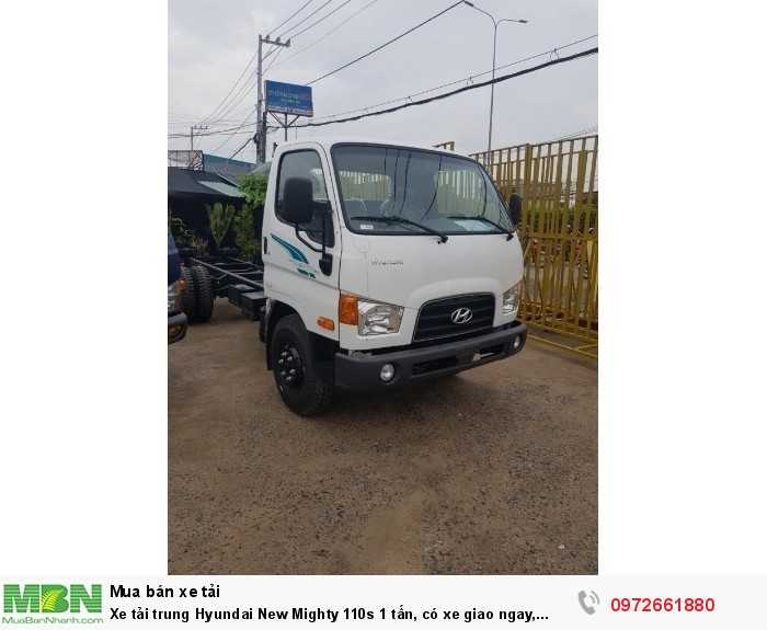 Xe tải trung Hyundai New Mighty 110s 7 tấn, có xe giao ngay, khuyến mãi hot