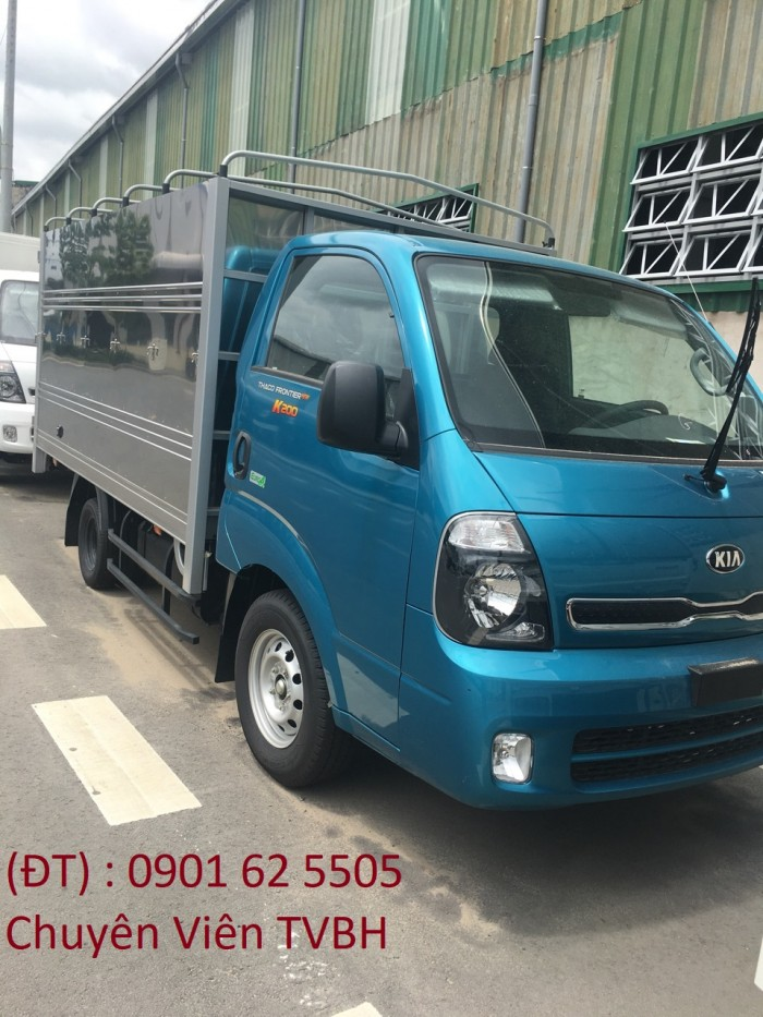 Bán xe tải Kia K200 tải trọng 990kg, 1990kg- hỗ trợ trả góp 80% . LH ngay để được giá tốt