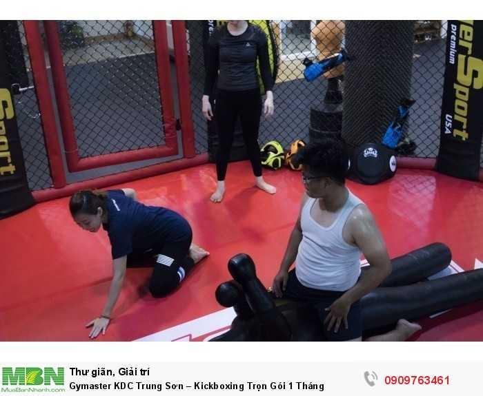 LUYỆN TẬP KICKBOXING & MMA TẠI GYMASTER-FITNESS YOGA CENTER0