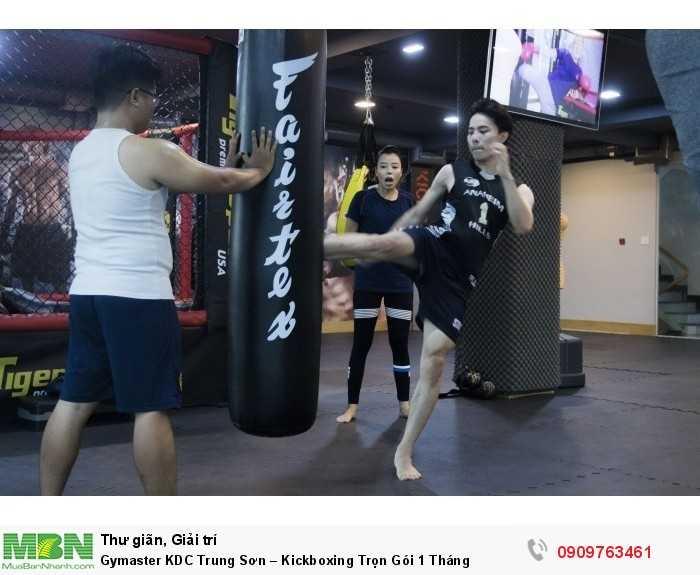 LUYỆN TẬP KICKBOXING & MMA TẠI GYMASTER-FITNESS YOGA CENTER1