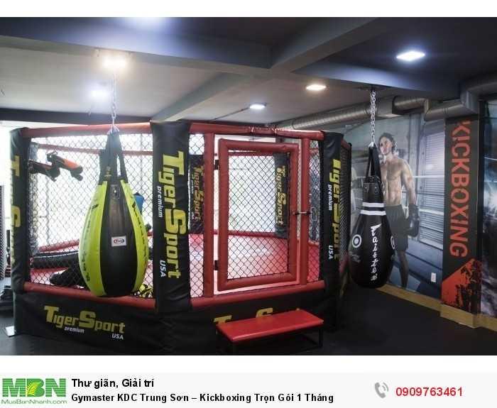 LUYỆN TẬP KICKBOXING & MMA TẠI GYMASTER-FITNESS YOGA CENTER2