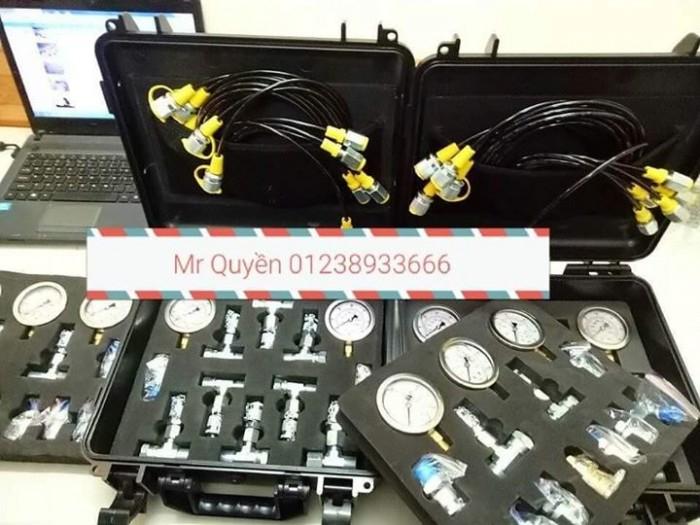 Bộ đồng hồ đo áp suất thủy lực5