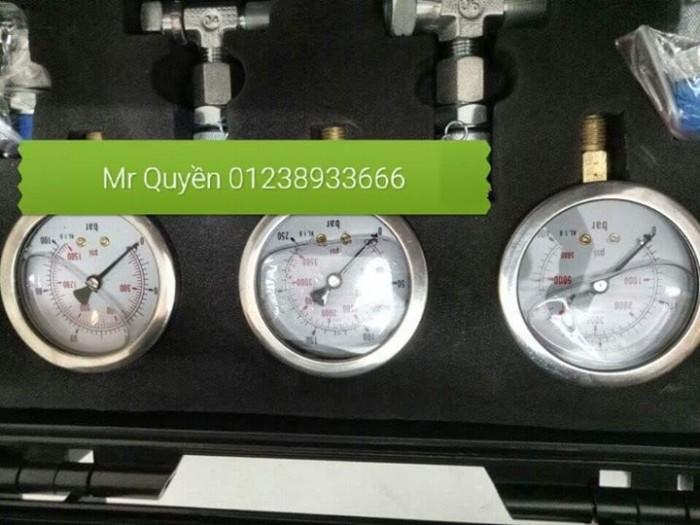 Bộ đồng hồ đo áp suất thủy lực2