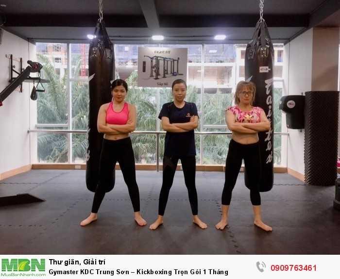 LUYỆN TẬP KICKBOXING & MMA TẠI GYMASTER-FITNESS YOGA CENTER5