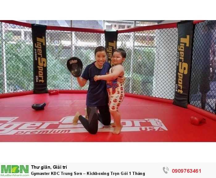 LUYỆN TẬP KICKBOXING & MMA TẠI GYMASTER-FITNESS YOGA CENTER6