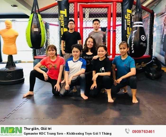 LUYỆN TẬP KICKBOXING & MMA TẠI GYMASTER-FITNESS YOGA CENTER7