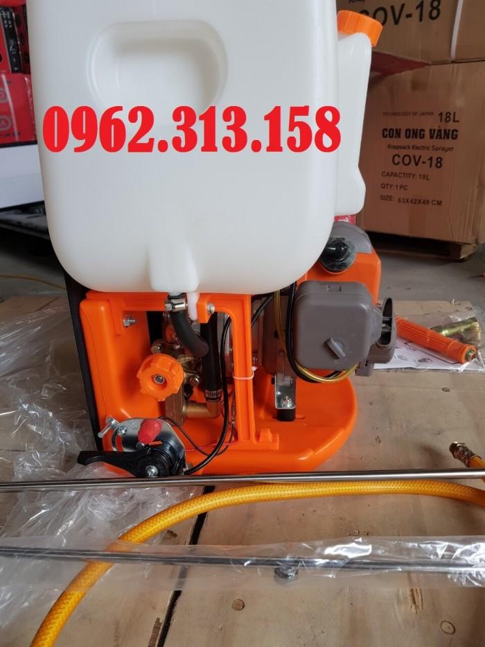 Máy phun thuốc trừ sâu,phun thuốc phòng dịch Oshima CX676 củ bơm đồng chất lượng5