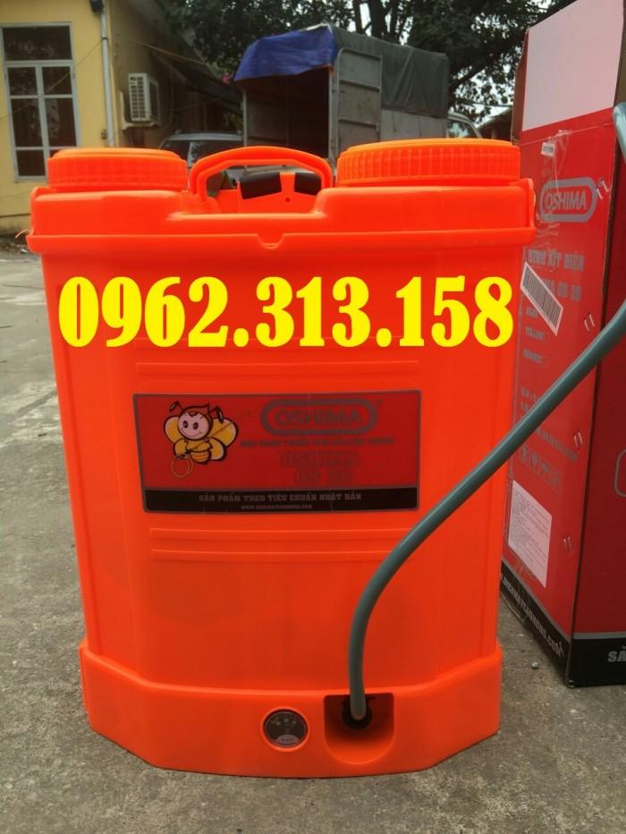 Máy phun thuốc trừ sâu,phun thuốc phòng dịch Oshima CX676 củ bơm đồng chất lượng3