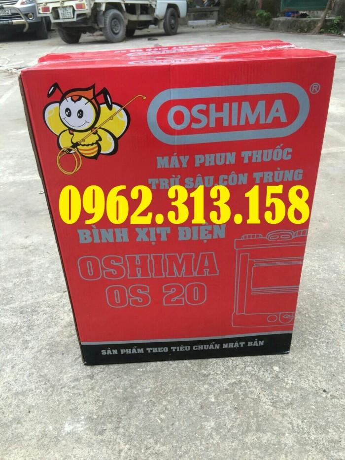Máy phun thuốc trừ sâu,phun thuốc phòng dịch Oshima CX676 củ bơm đồng chất lượng4