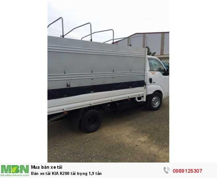 Bán xe tải KIA K200 tải trọng 1,9 tấn