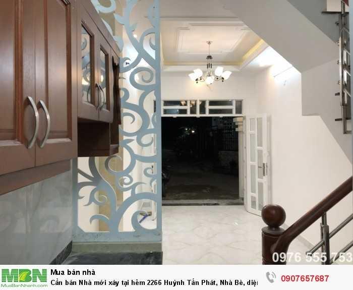 Cần bán Nhà mới xây tại hẻm 2266 Huỳnh Tấn Phát, Nhà Bè, diện tích 18m2