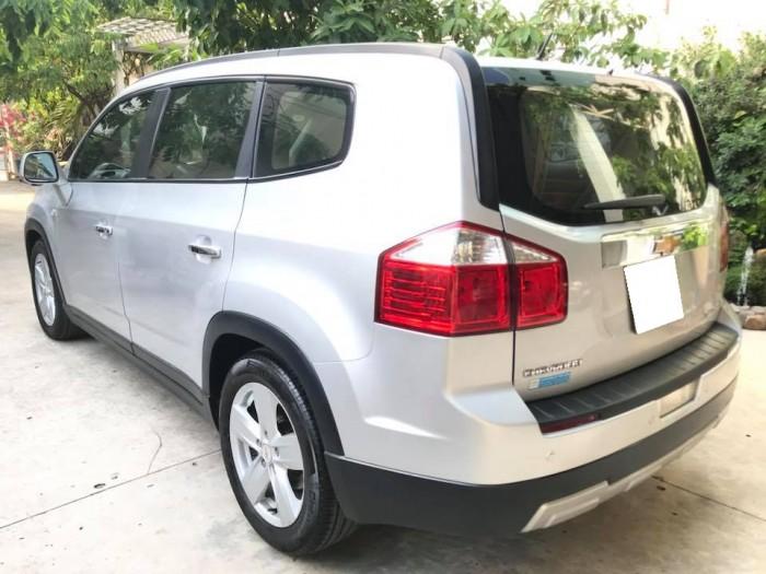 Cần bán xe ô tô Orlando 2012, bản LTZ số tự động, màu bạc