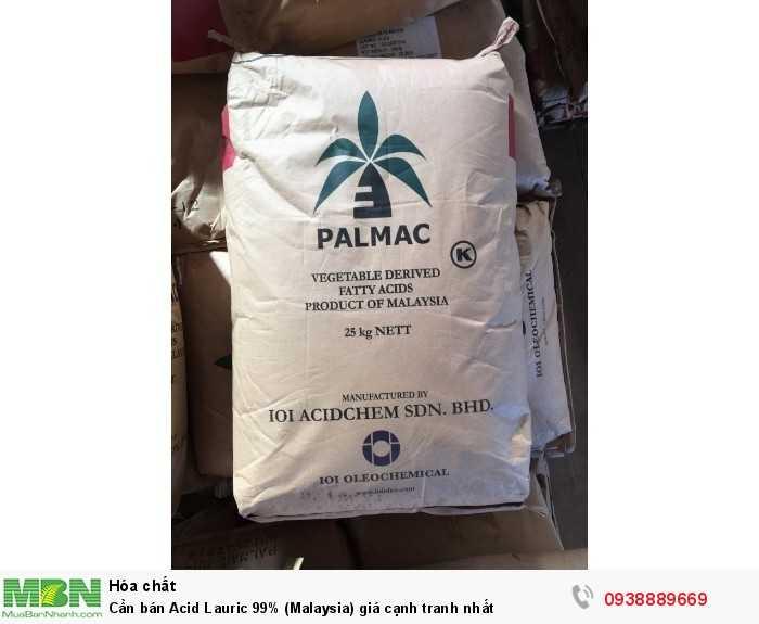 Cần bán Acid Lauric 99% (Malaysia) giá cạnh tranh nhất0