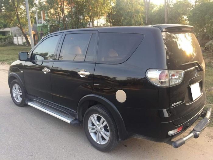 Gia đình cần bán Mitsubishi Zinger 2010 số tự động, màu đen
