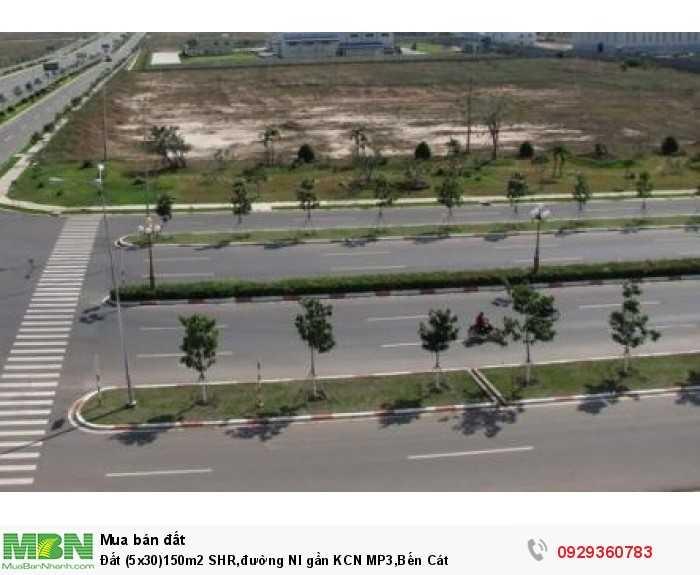 Đất (5x30)150m2 SHR,đường NI gần KCN MP3, Bến Cát