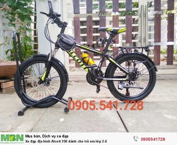 Xe đạp địa hình Alcott 350 dành cho trẻ em lớp 2-6
