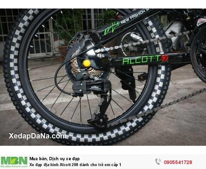 Xe đạp địa hình Alcott 208 dành cho trẻ em cấp 1 2