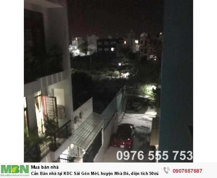 Cần Bán nhà tại KDC Sài Gòn Mới, huyện Nhà Bè, diện tích 50m2