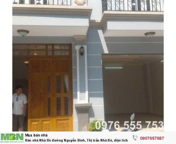 Bán nhà Nhà Bè đường Nguyễn Bình, Thị trấn Nhà Bè, diện tích 91m2 giá 4.2 tỷ