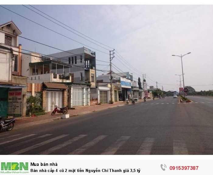 Bán nhà cấp 4 cũ 2 mặt tiền Nguyễn Chí Thanh