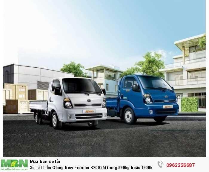 Xe Tải Tiền Giang New Frontier K200 tải trọng 990kg hoặc 1900kg