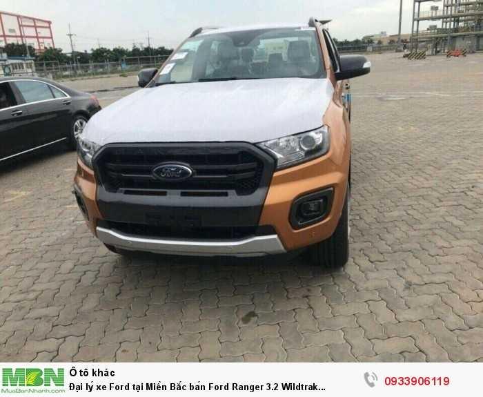 Đại lý xe Ford tại Miền Bắc bán Ford Ranger 3.2 Wildtrak 2018