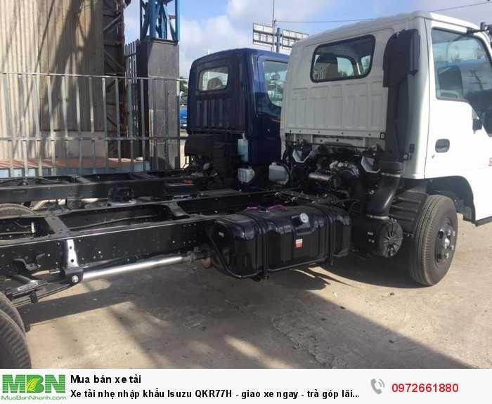 Xe tải nhẹ nhập khẩu Isuzu QKR77H - giao xe ngay - trả góp lãi suất thấp 1