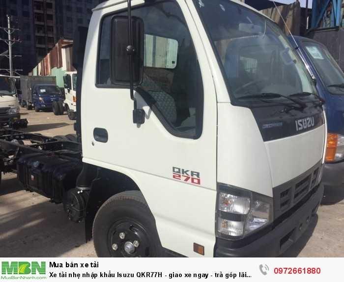 Xe tải nhẹ nhập khẩu Isuzu QKR77H - giao xe ngay - trả góp lãi suất thấp 2