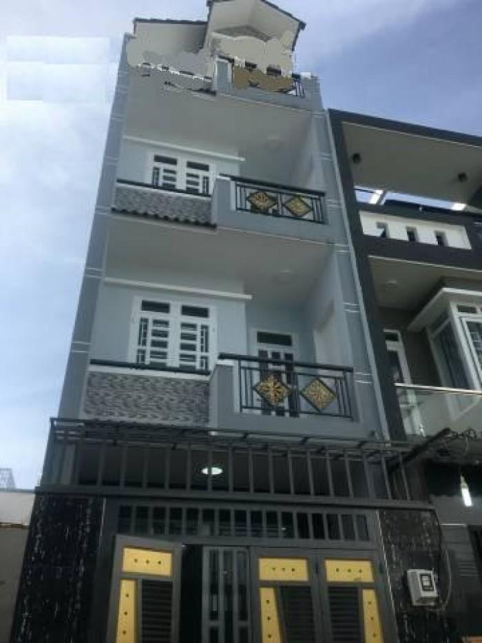 Bán nhà 4 lầu MT Hoàng Diệu, P12, Q4