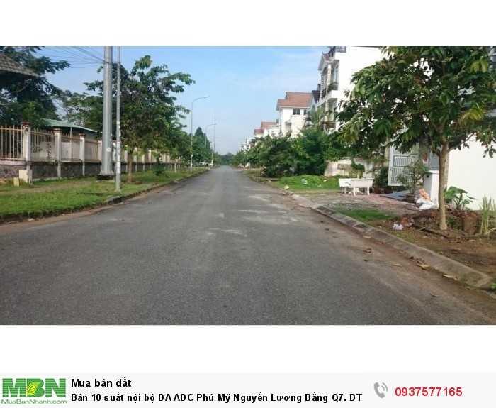 Bán 10 suất nội bộ DA ADC Phú Mỹ Nguyễn Lương Bằng Q7. DT 80-140m2