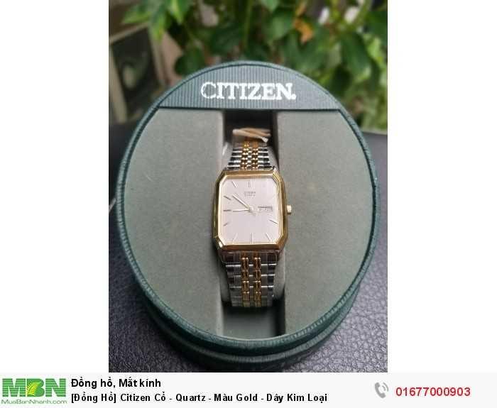 Citizen - Dây Kim Loại - Cổ0
