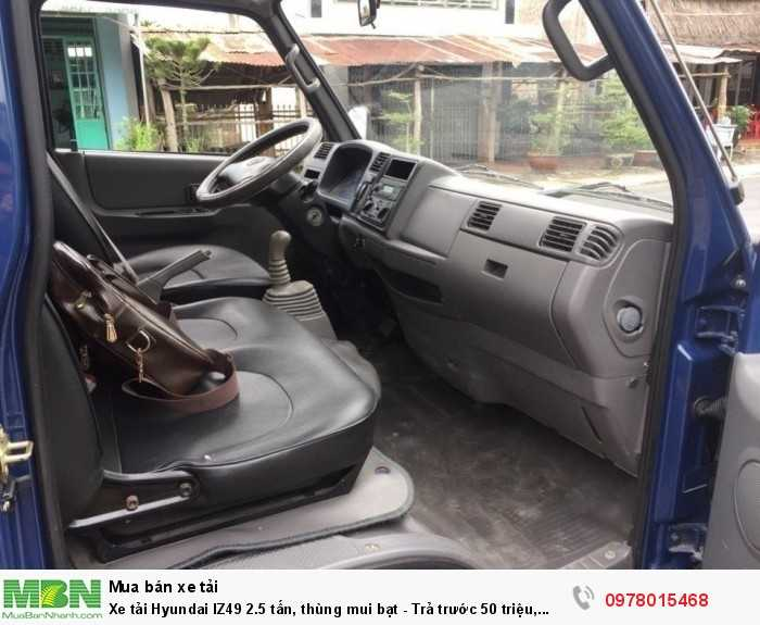 Xe tải Hyundai IZ49 2.5 tấn, thùng mui bạt - Trả trước 50 triệu, giao xe trong 5 ngày làm việc. - Hotline: 0978015468 (24/24)