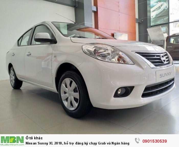 Nissan Sunny XL 2018, hỗ trợ đăng ký chạy Grab và Ngân hàng lên đến 90% giá trị xe